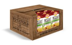 Lay's Kettle Cooked Chips Display by Colleen Belton, via Behance