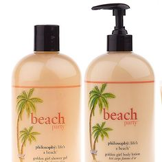 Philosophy Gel and Lotion