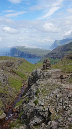 The Faroe Islands are ideal for hikes and long walks. By foot you can explore this nature the best way. The paths are quite easy to hike and you are never alone, sheeps are always accompanied with you. Aarhus, Faroe Islands, Us Travel, Denmark, Walks, Hiking, Explore, Mountains, Places