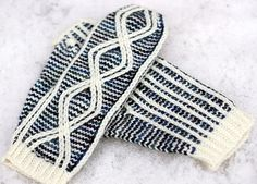Ravelry: Kicking Horse Mittens pattern by Kate Bostwick Knitted Headband Free Pattern, Mittens Pattern, Knit Mittens, Knitted Poncho, Knitting Charts, Loom Knitting, Baby Knitting Patterns, Crochet Mandala Pattern, Crochet Flower Patterns