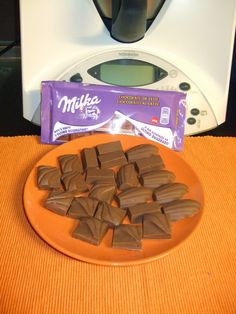 As minhas aventuras com a Bimby: Bombons de chocolate milka