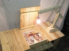 Pallet Coffee Table with Hidden Storage Space.