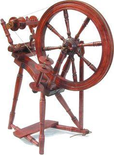 Kromski Prelude Spinning Wheel Walnut Or by hippiechixfiber