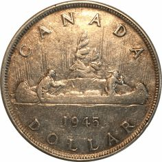 Top 10 Rare Silver Dollars My Road to Wealth and Freedom 1945 Canadian Silver Dollar The post Top 10 Rare Silver Dollars My Road to Wealth and Freedom appeared first on POSPO Investments. Valuable Pennies, Rare Pennies, Valuable Coins, Silver Dollar Value, Silver Dollar Coin, Thousand Dollar Bill, Old Coins Value, Us Silver Coins, Rare Coins Worth Money