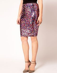 give me all your sequins. (asos pencil skirt)