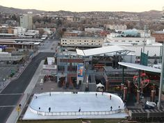 The Reno Ice Rink at Aces Ballpark is open now until mid February!