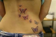 ... Small Butterfly Tattoo Trendy: