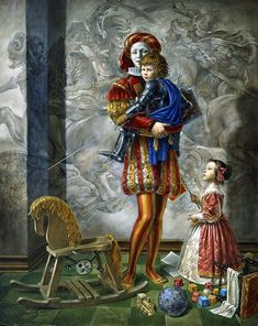 Michael Cheval Lullaby for the Hero