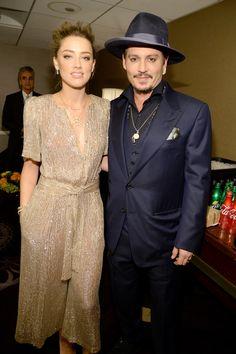 Johnny Depp und Amber Heard bei den Hollywood Film Awards in Los Angeles