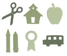 Love This : Quickutz Cookie Cutter Die - School Shapes