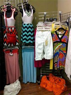 Va Va VOOM...Chevron & Bold Stripes waiting for you at Lillians of Anoka MN.