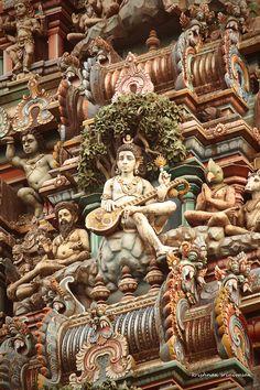 temple opulence: Lord Shiva