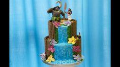 Gâteau Vaiana / Moana - Cake Design