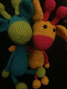 Crochet a cuty giraffe Check also www.hobsies.weebly.com or https://www.facebook.com/HobsiesHaaksels?ref=hl