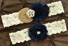 Hey, I found this really awesome Etsy listing at https://www.etsy.com/listing/166128656/burlap-rustic-wedding-garter-set-bridal