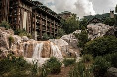 Silver Creek Falls at the Wilderness Lodge | Flickr - Photo Sharing!