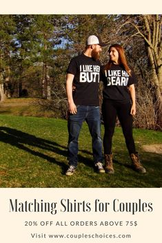 MASSIVE ANNIVERSARY SALE 😍 SAVE 20% ON ORDERS OVER 75$ 🔥 Need An Awesome Gift For Your Lovers?Get Them Here CouplesChoices.com #coupleschoices #matchingoutfit #giftideas