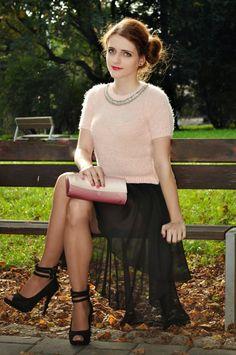 THE WENDY'S LOOKBOOK: Long skirt