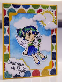 Some Odd Girl Dandelion Fairy | Color Outside The Lines