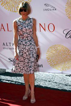 Τον Ιούλιο του 2007 στο Fashion Show του Valentino