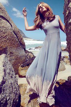 Candice Boucher by Frauke Fischer in Blue Skies for Fashion Gone Rogue