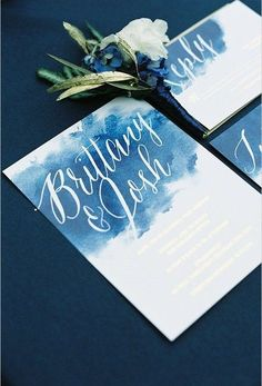 31 Summer Wedding Stationary Ideas To Try | HappyWedd.com #PinoftheDay #summer #wedding #stationary #ideas