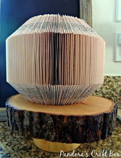 Book folding has many art forms and people love making different designs to with them. I usually try to do simple book folding patterns that can be shown here with pictures. The next pattern only has one type of fold and it can be done in about an hour. I usually do my book folding …