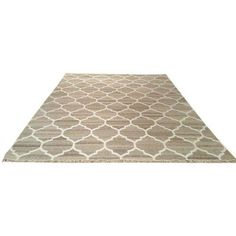 Modern Contemporary Flatweave Dhurrie Handmade Rug - 8x10 (€235) ❤ liked on Polyvore featuring home, rugs, contemporary handmade rugs, gray flat weave rug, grey white rug, gray white rug, colored rugs and flatwoven rug