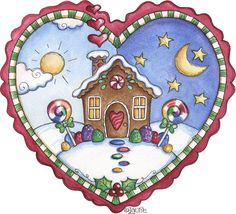 Gingerbread Heart 1
