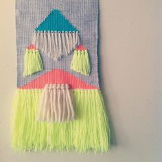 Finished!!! Weaving by Peaches + Keen