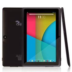 Shop for Tablet Express Dragon Touch Quad Core Android Tablet - Black. Get free delivery On EVERYTHING* Overstock - Your Online Computers & Tablets Store! Safe Internet, Tablet Reviews, Amazon Electronics, Multi Touch, Android 4, Latest Android, Electronic Gifts, Computer Accessories, Google Play
