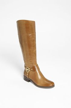 Got these for Christmas now what to wear with them...  MICHAEL Michael Kors 'Fulton' Harness Boot   Nordstrom