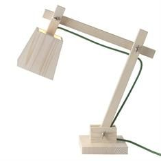 Muuto Wood Lamp Bordlampe Grønn Ledning 839,-