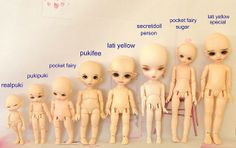 Tinies Comparison by honeythorpe, via Flickr