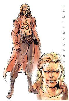 Liquid Snake, Metal Gear Solid 1