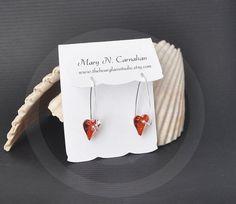 Custom earring card display Jewelry display by TheHourglassStudio
