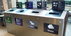 Envyrozone - Recycling Bins, Recycling Containers, Recycling & Waste, Recycle, Sustainability, Recycling Solutions, Campus Recycling, Colleg...