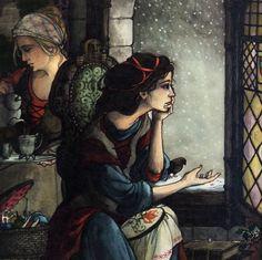 "Trina Schart Hyman «Snow White»   ""Картинки и разговоры"""