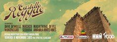 CASTELLO REGGAE – MUZAK – CAGLIARI – VENERDI 8 NOVEMBRE 2013