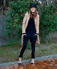 Captain Cap, Casual Outfits, Cute Outfits, Spring Street Style, Sport Chic, Parisian Chic, Trends, Fall Looks, My Outfit