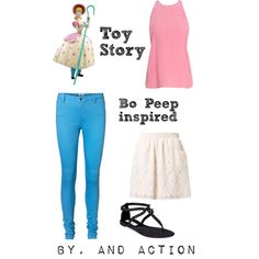 """Bo Peep"" by pet387 on Polyvore"