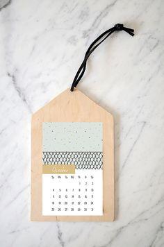 Nalle's House: October Calendar