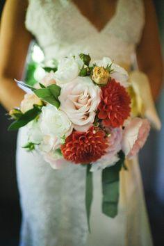 Pretty Bouquet - A little punch of color