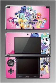 My Little Pony Friendship is Magic Rarity Game Vinyl Skin Cover 2 Nintendo 3DS | eBay