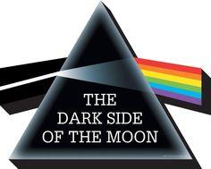 Pink Floyd Dark Side Of the Moon Album Logo Chunky Fridge Magnet