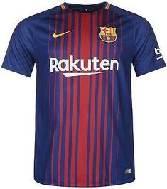Messi Barcelona Man Short Sleeve Football / Soccer Jersey Available S to XL Barcelona 2017, Barcelona Shirt, Mens Jersey Shirts, Team Shirts, Football Tops, Football Soccer, Messi 10, Lionel Messi, Club