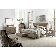 Trinell 5-pc. Queen Bedroom Set | Modern farmhouse style, Queen ...