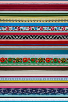Ribbon wallpaper | Products | Studio ditte