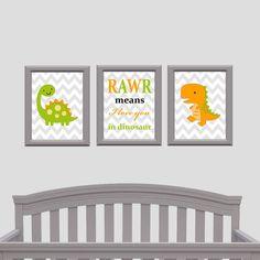 Rawr Means I Love You In Dinosaur Nursery Decor Design