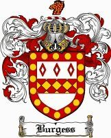 Burgess Coat of Arms / Burgess Family Crest